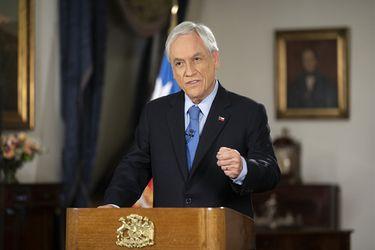 """Piñera pide al Congreso aprobar reforma a Carabineros y otras leyes de resguardo del orden público: """"Llegó el momento de ser consecuentes con lo que la gente nos está pidiendo"""""""