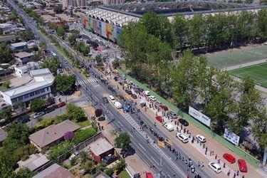"""El """"bloque popular"""" de comunas que disparó la participación en Santiago"""