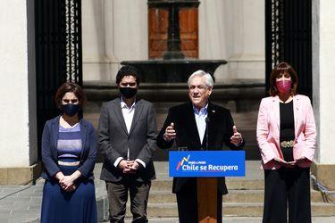 Piñera destaca mejoría en cifras de desempleo y dice que ya se están empezando a ver los primeros signos de recuperación de la economía