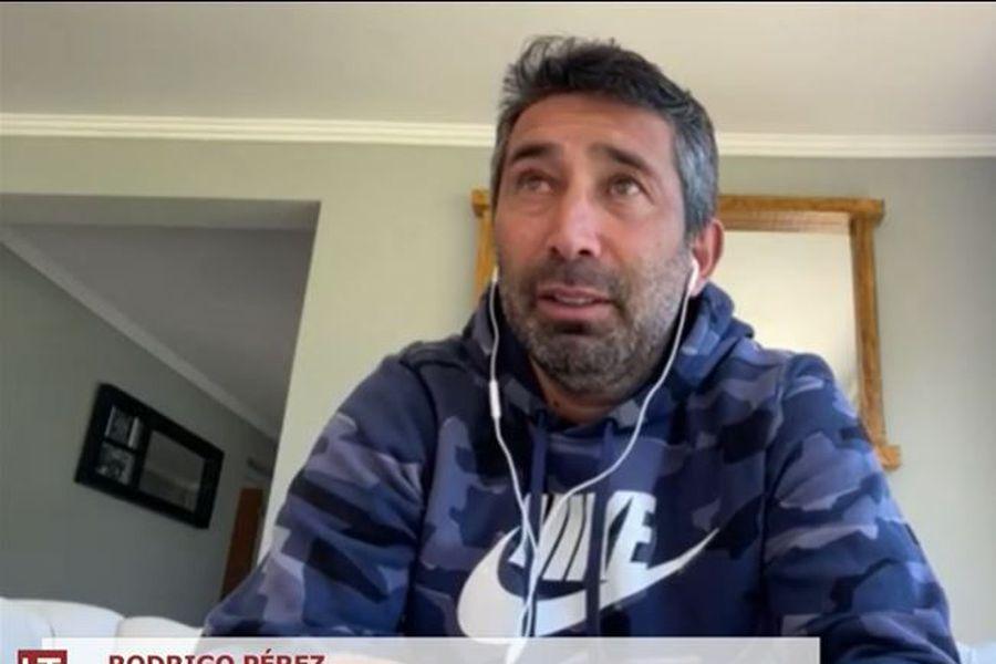 Rodrigo Pérez, en su participación en El diván del Kily, el programa de conversación de El Deportivo.