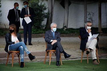 """Presidente Piñera a partidos de Chile Vamos: """"La constitución que queremos para Chile nos une y probablemente va a dividir a la oposición"""""""