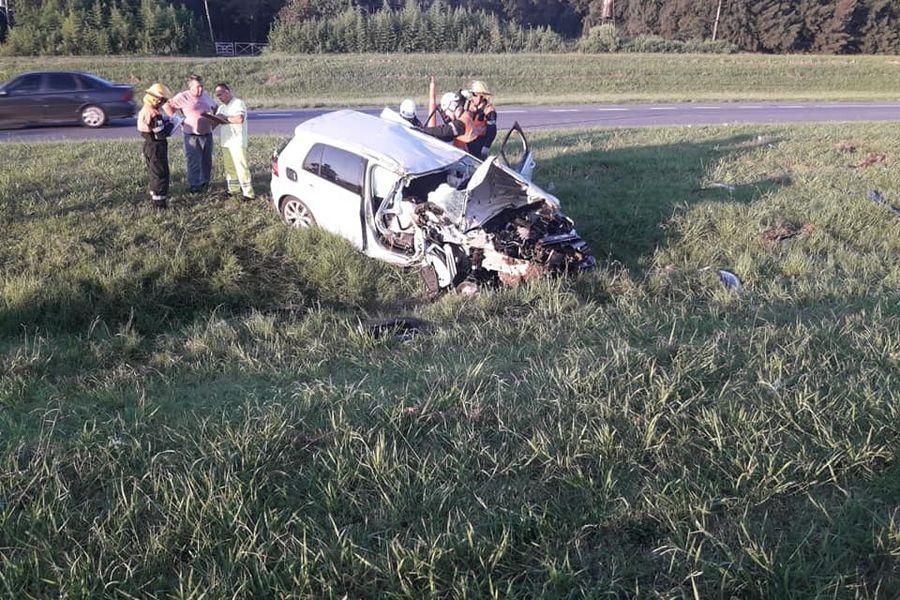 VW accidente