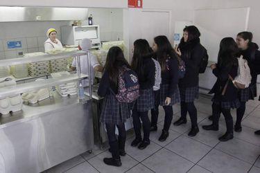 La Junaeb realiza supervisión masiva de cocinas que entrega el servicio de Programa de Alimentación Escolar
