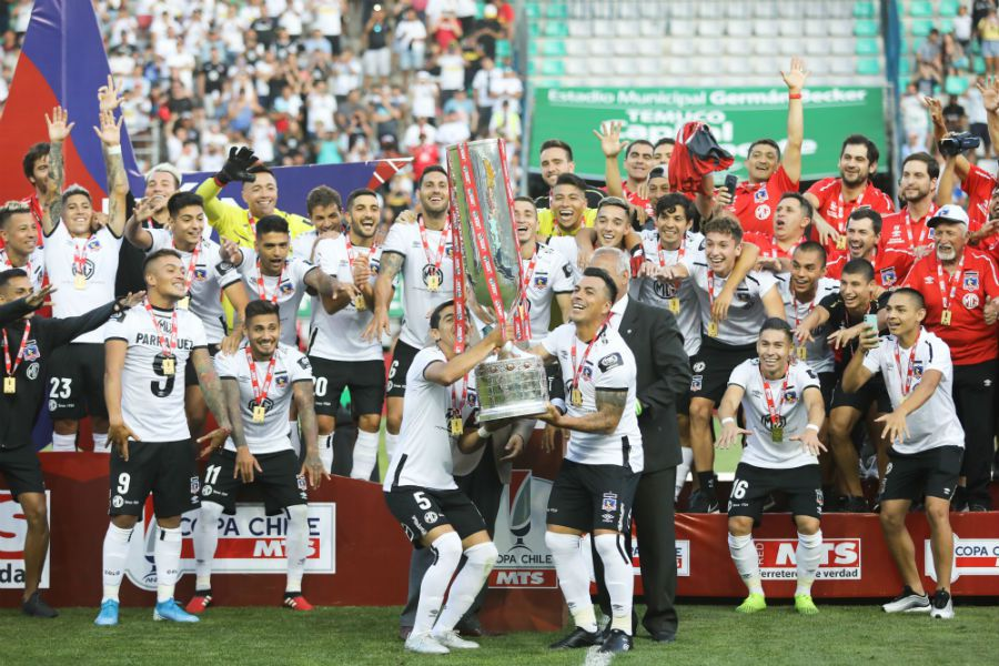 Colo Colo campeón de la Copa Chile