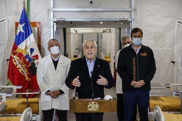 """Piñera admite que """"nuestro sistema de salud está muy cerca del límite"""" y que tras aumento de casos de Covid-19 """"más que buscar culpables, busco soluciones"""""""