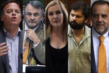 Los cinco rostros opositores que marcaron el debate por retiro de fondos de AFP