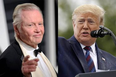 Jon Voight y Donald Trump