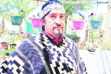"""Juan Pichún, vocero de la Coordinadora Arauco Malleco: """"Somos enfáticos en repudiar si existe un grupo que estuviera pensando en aprovecharse de la lucha mapuche"""""""