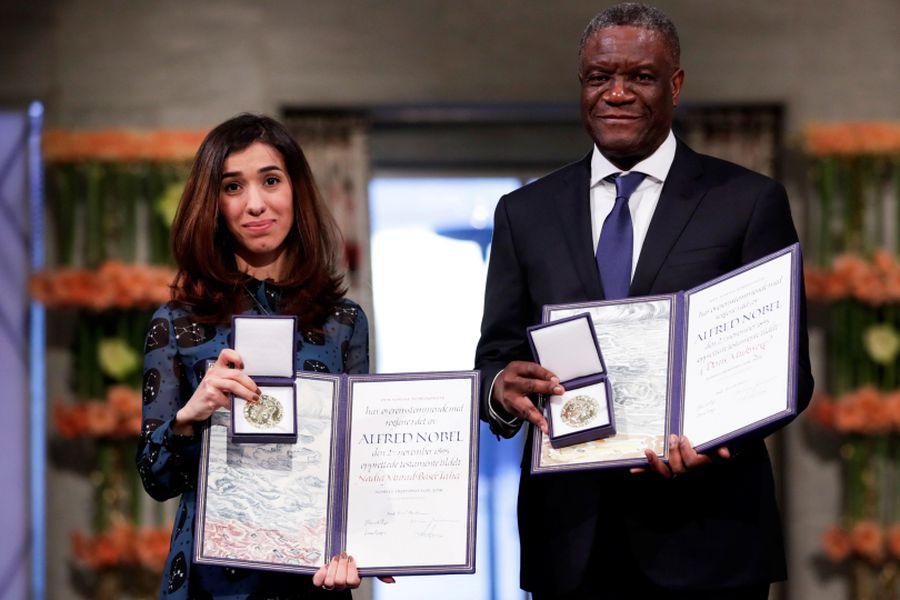 Mukwege y Murad
