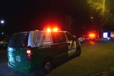 Carabineros interviene en incidentes provocados por encapuchados en cercanías del ex Pedagógico