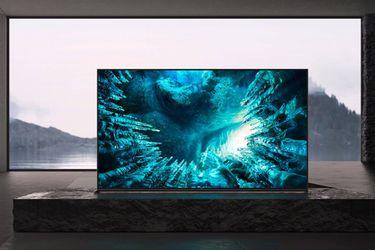 Sony presentó a su nuevo televisor 8K orientado al público general