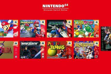 Juegos N64 ya están disponibles en Nintendo Switch Online pero con algunos problemas