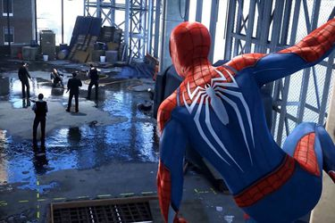 Un charco de agua causa polémica en el juego de Spider-Man