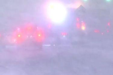 Las imágenes que deja la tormenta de nieve en el noreste de Estados Unidos