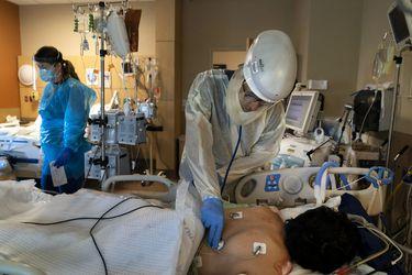 Estados Unidos llega a los 14 millones de contagiados y con nuevo récord de muertes diarias