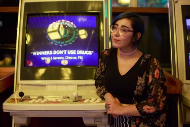 CAMILA VILCHES, LOCUTORA DE RADIO INJUV Y JUGADORA DE VIDEOJUEGOS