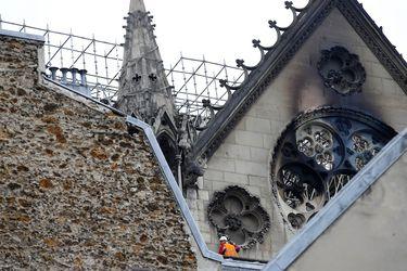 Gobierno francés advierte que Notre Dame todavía corre riesgo de derrumbarse