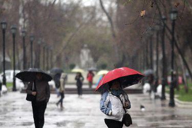 Precipitaciones en la Región Metropolitana: Estos son los cinco días más lluviosos de los últimos diez años