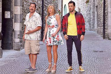 Adam Sandler se reúne con Jennifer Aniston en nueva comedia de Netflix