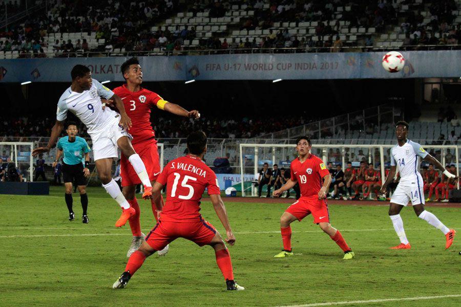 Chile, Inglaterra, Sub 17