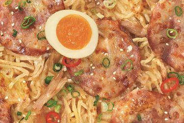 La Pizza Hut de Taiwan lanzó una pizza ramen