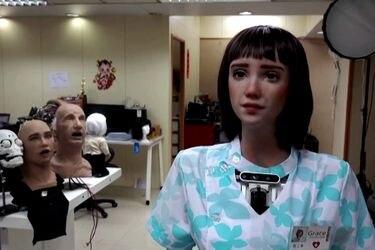 Crean robot enfermera para acompañar a pacientes Covid
