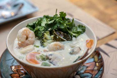 Siam thain, sopa. Foto Reinaldo Ubilla