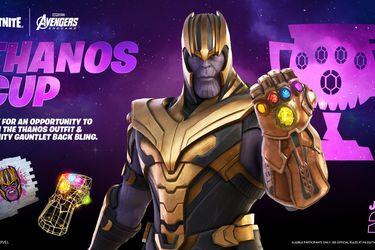Thanos llegará a la tienda de Fortnite