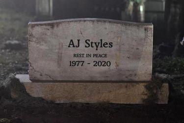 AJ Styles fue declarado muerto en Wikipedia