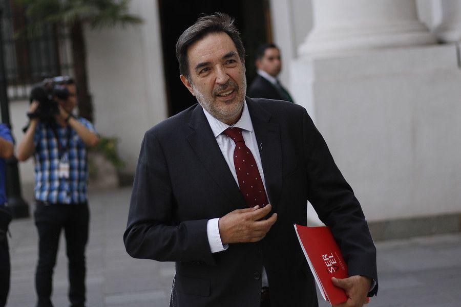 Presidente del Consejo Directivo del Servel, Patricio Santamaría.