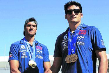 """Primos Grimalt: """"Las aspiraciones son altas, queremos ir a pelear por medallas en Tokio"""""""
