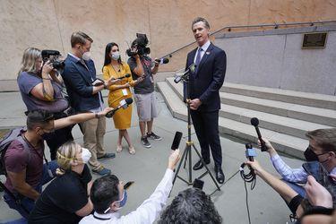 La elección revocatoria de California pone a prueba el liderazgo pandémico del gobernador