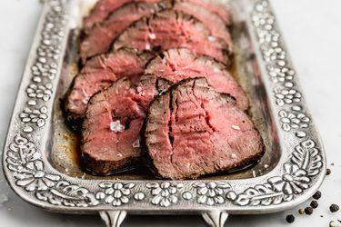 Cómo hacer un roast beef a la pimienta