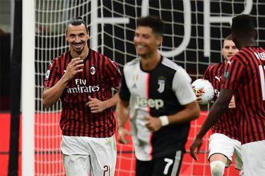 Zlatan le gana a Cristiano: el Milan frena a la Juve y le remonta un gran partido