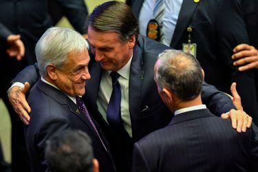 """Piñera confirma que visita de Bolsonaro a Chile se efectuará """"muy prontamente"""""""