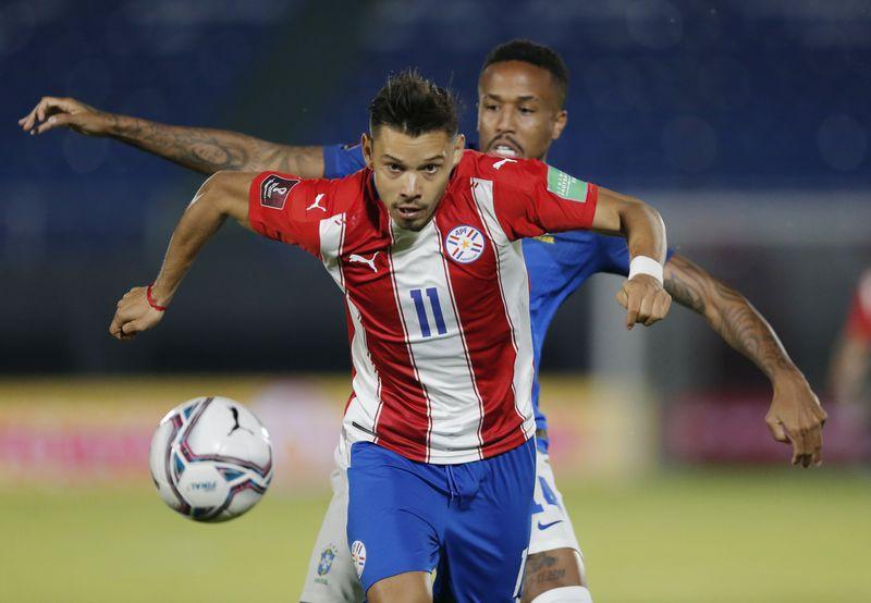 Ángel Romero, seleccionado de Paraguay