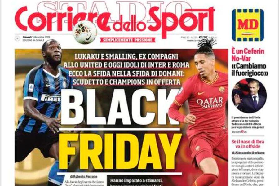 Black Friday, Corriere dello Sport