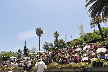 Al aire libre y en el Cerro San Cristóbal: Te Deum sale de la Catedral por segunda vez en 209 años