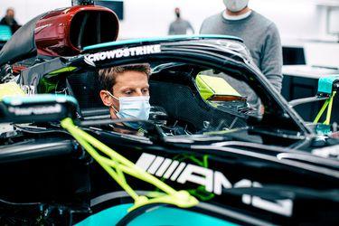 Tras su increíble accidente: Grosjean vuelve a la F1 bajo el alero de Mercedes