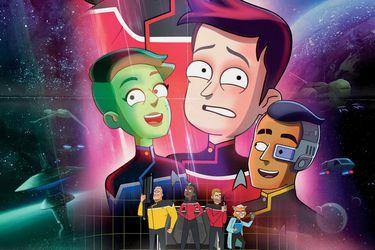 Vean el tráiler de Star Trek: Lower Decks, la comedia animada de la franquicia que se estrenará en agosto