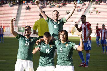 Bolivia golea a Paraguay y se mete de lleno en la pelea por el quinto puesto eliminatorio