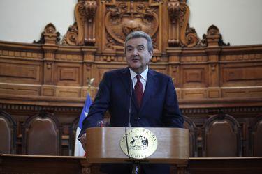 El presidente de la Corte Suprema, Guillermo Silva.
