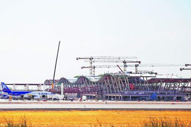 AEROPUERTO, AVIONES, CONSTRUCCION, VIAJES, NUEVO AEROPUERTO PUDAHUEL