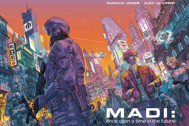 Lo próximo de Duncan Jones es una novela gráfica que financió rápidamente en Kickstarter