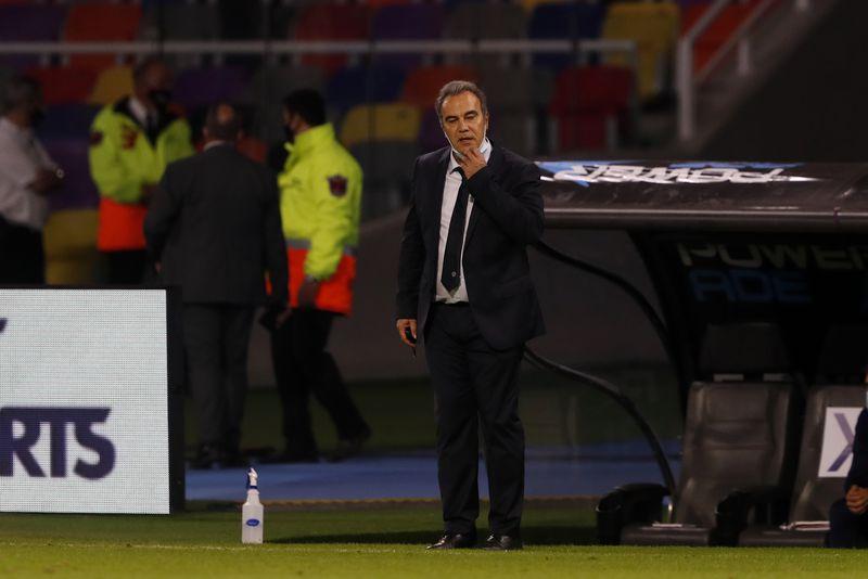 Martín Lasarte, técnico de la Selección Chilena. Foto: Agencia Uno.