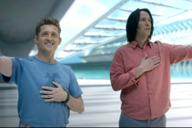 Vean el primer tráiler de Bill & Ted Face the Music