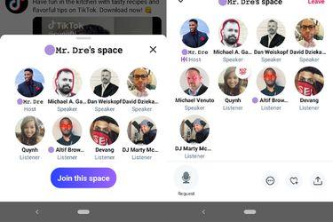 La nueva función de conversaciones en vivo Twitter Spaces ya está disponible para Android