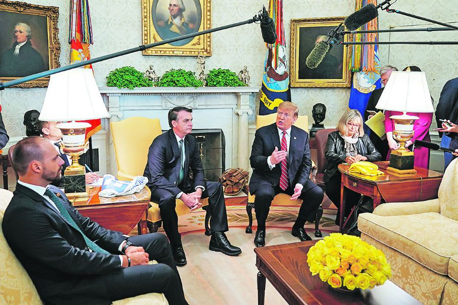 Brazilian President Bolsonaro offers son Eduardo position of ambassador to the US (46144211)