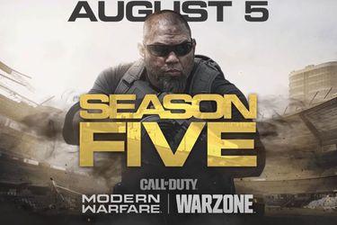 Con un tráiler nos presentan a la temporada cinco de Call of Duty: Modern Warfare & Warzone