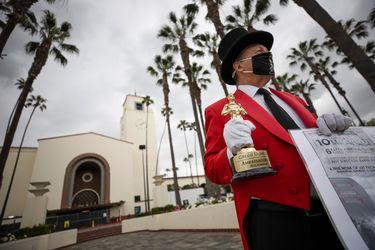 Sin uso de mascarillas y desde una estación de trenes: cómo serán los próximos Oscar